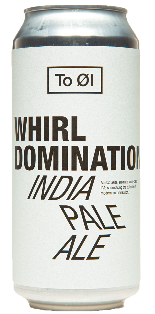 TO ØL Whirl Domination IPA 6.5% ABV 440ml Can