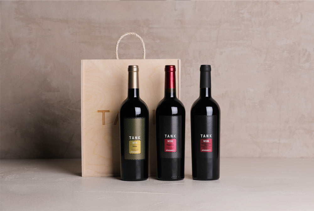 Red Wines of Sicily Gift Box - Tank