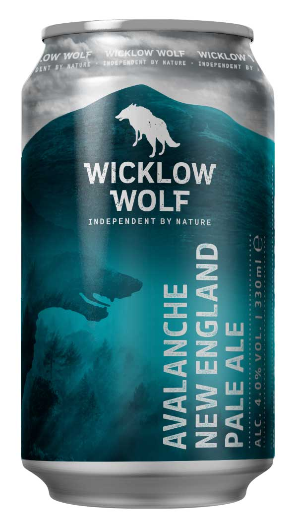 Wicklow Wolf - Avalanche New England Pale Ale 4.0% ABV 440ml Can