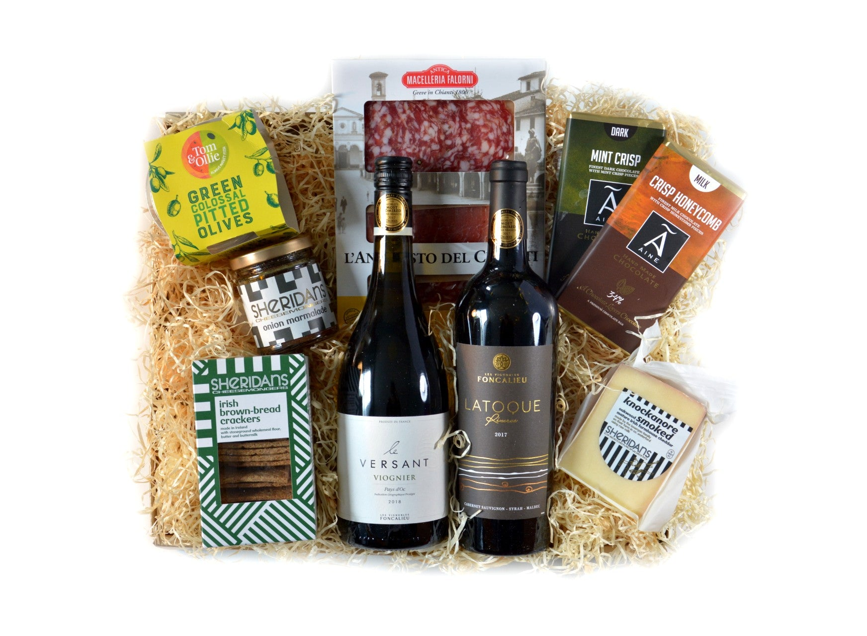 Wine and Charcuterie Hamper