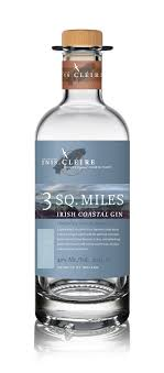 3 Sq. Miles -  Irish Coastal Gin 700ml Bottle 40% ABV