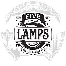 Five Lamps - Lager 4.2% ABV 500ml Bottle