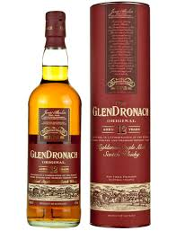GlenDronach -12 Year Old Scotch Whiskey