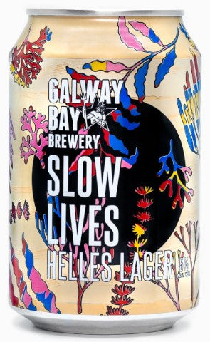 Galway Bay Slow Lives Helles Lager Can