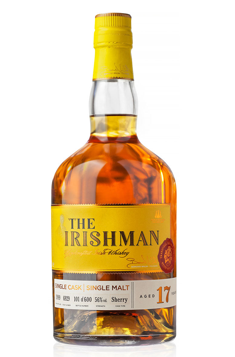 The Irishman -  17 Year Old Single Sherry Cask