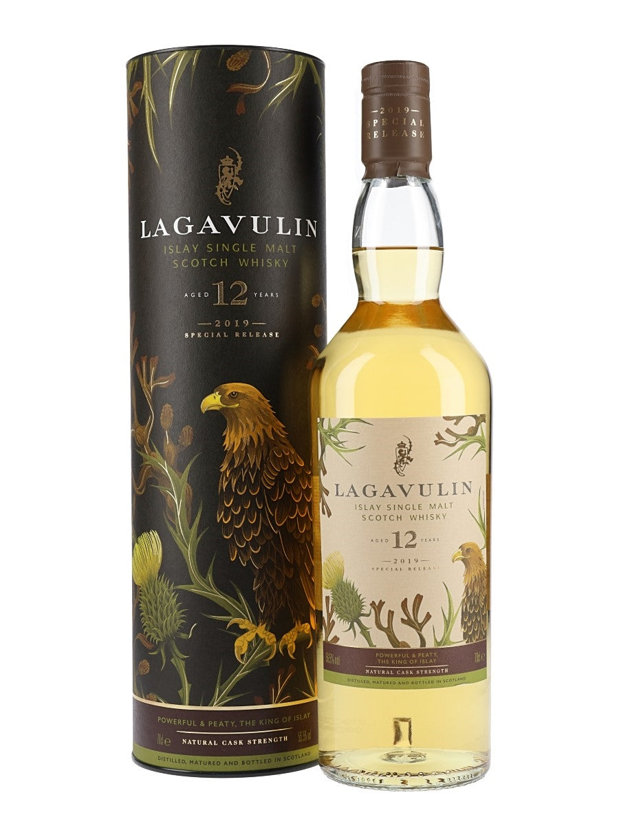 Lagavulin - Single Malt Scotch Whiskey Cask Strength 2019 Special Release