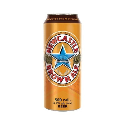 Newcastle Brown Ale 4.7% ABV 500ml Can