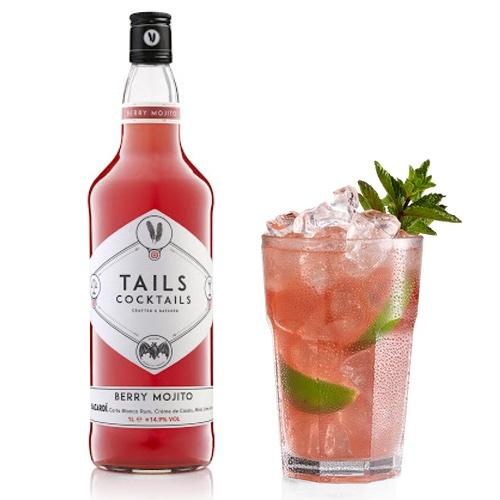 Tails Cocktails Berry Mojito 1 litre