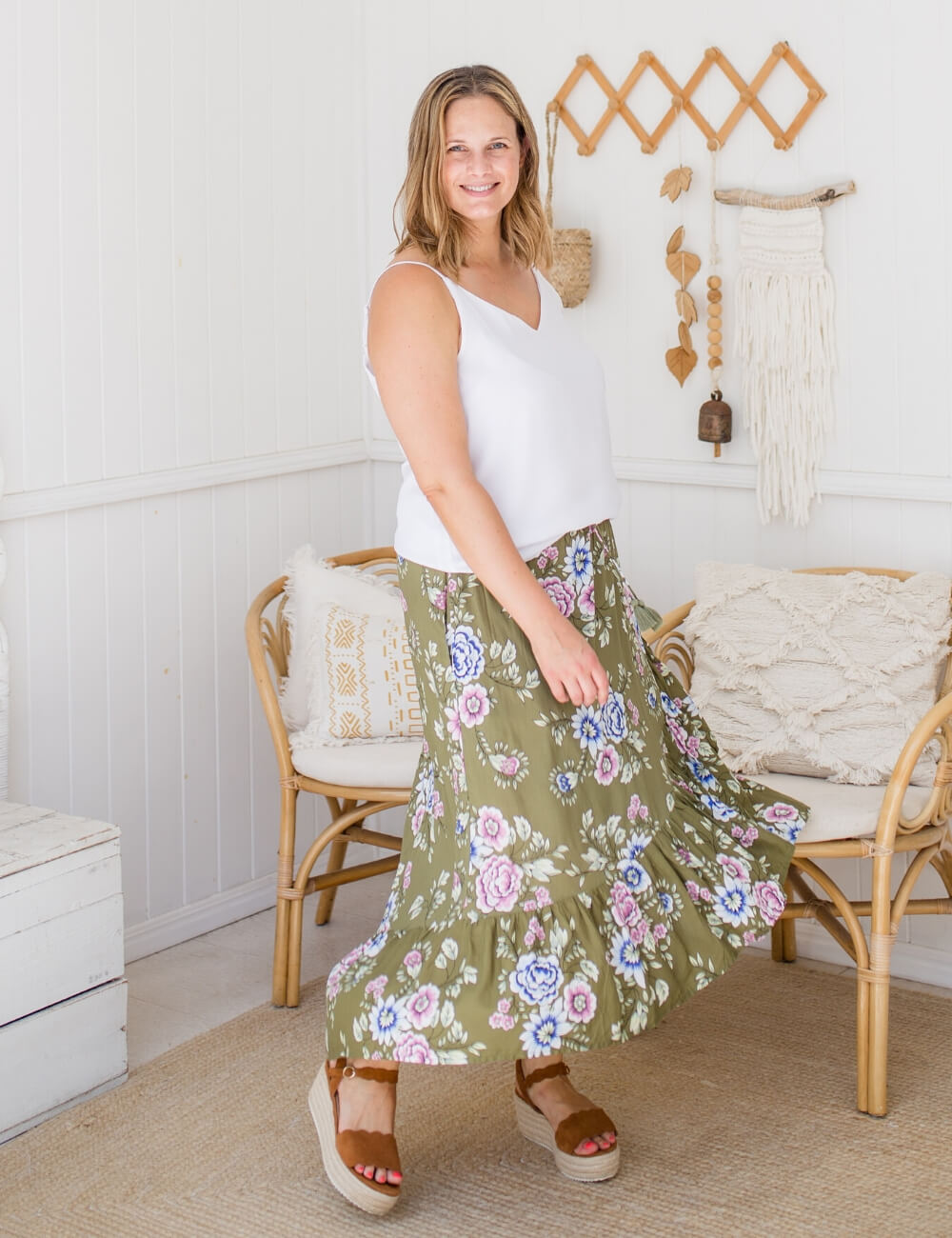 isle of summer label maxi skirts