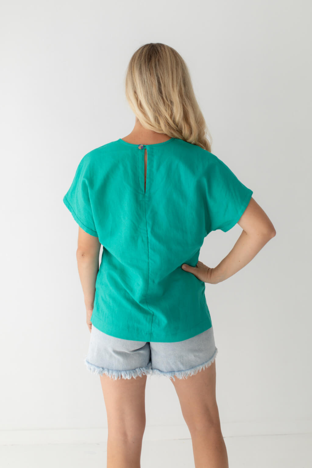 made in Australia linen top