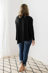 relaxed boatneck tee