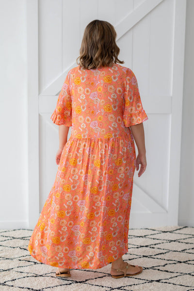 bohemian maxi dress by isle of summer