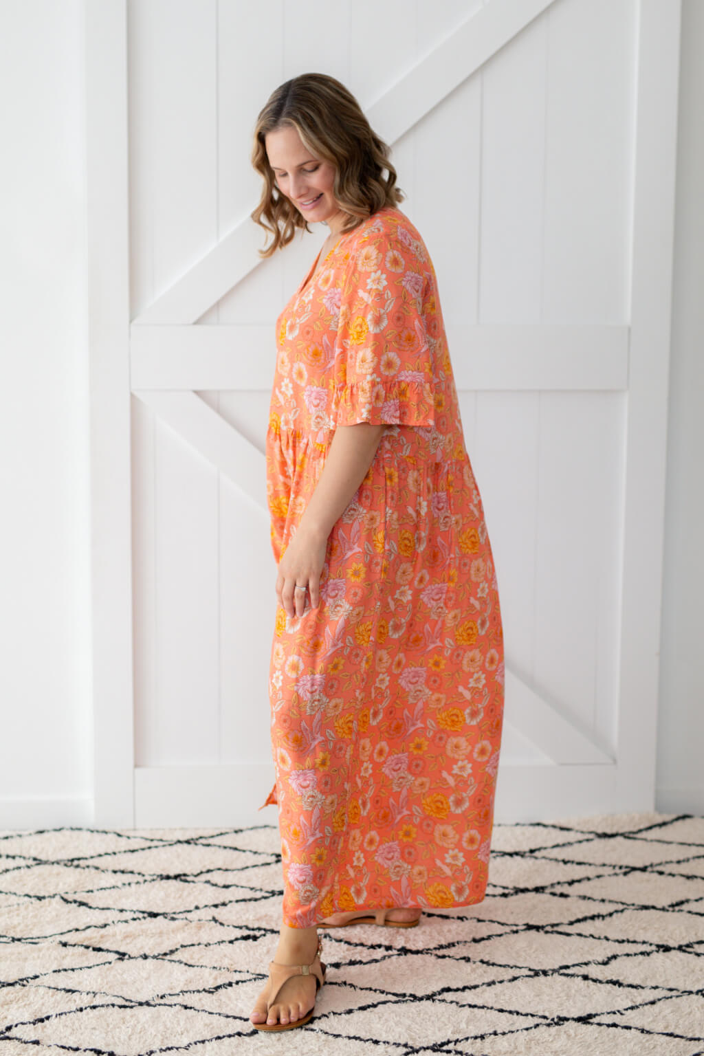 isle of summer label maxi dress