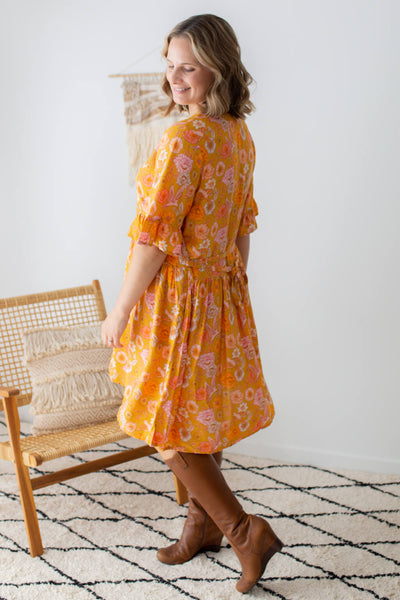 isle of summer tunic dress