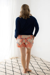 luxury loungewear shorts