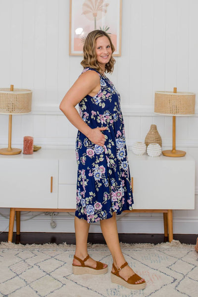 isle of summer dress with pockets