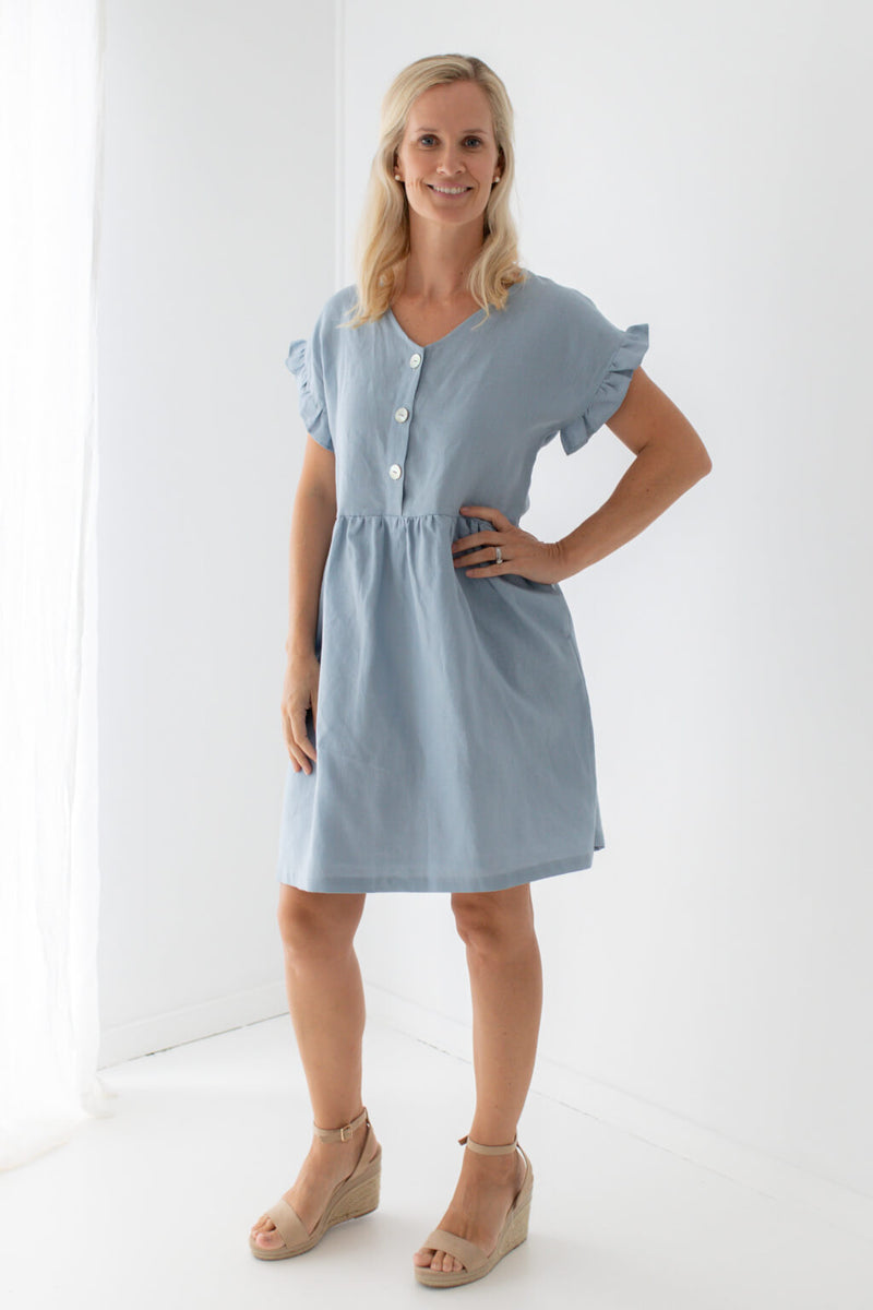 made in Australia linen dress