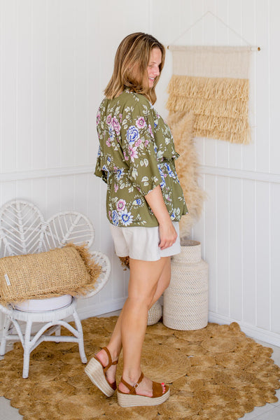 isle of summer robe blouse