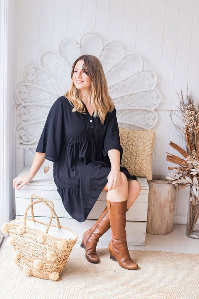 breastfeeding friendly tunic dress