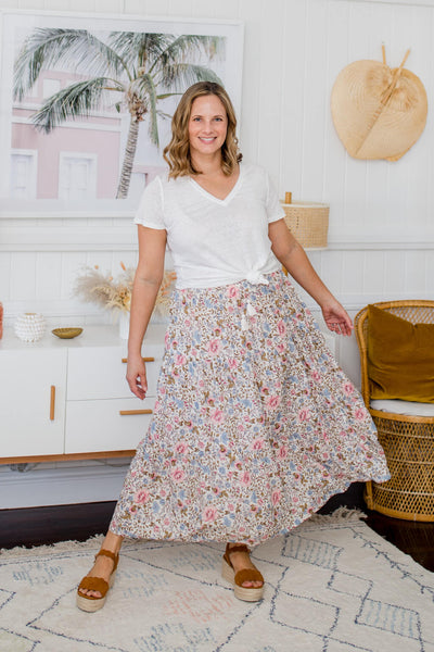 isle of summer maxi skirt