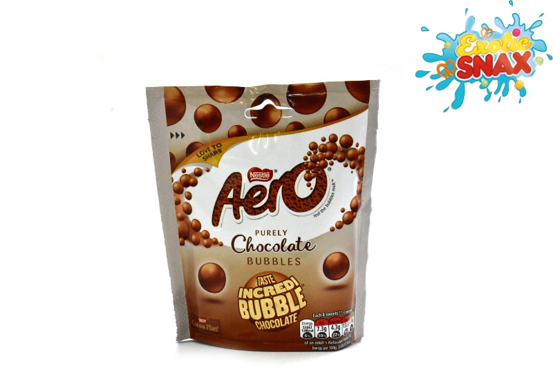 Aero chocolate bubbles nestle 102g