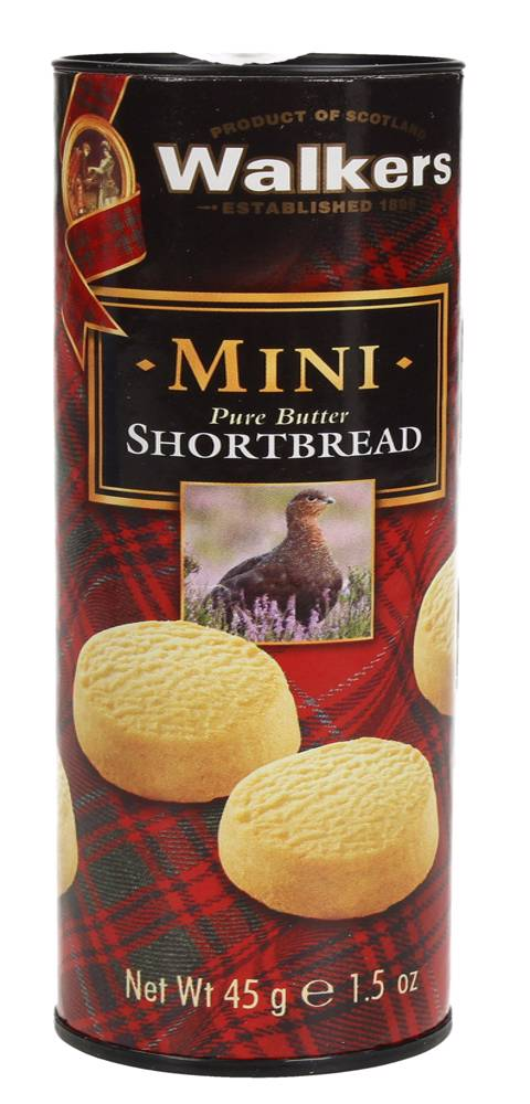 Walkers, MINI Pure Butter, Shortbread, 45gm
