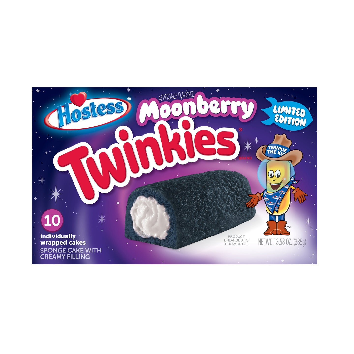 Hostess Moonberry Twinkies (Limited Edition)