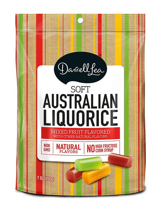Darrell Lea Mixed Fruit Soft Australian Licoric