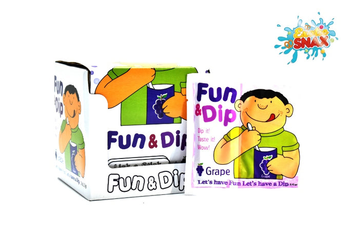 Fun & Dip Grape 24pcs * 15g
