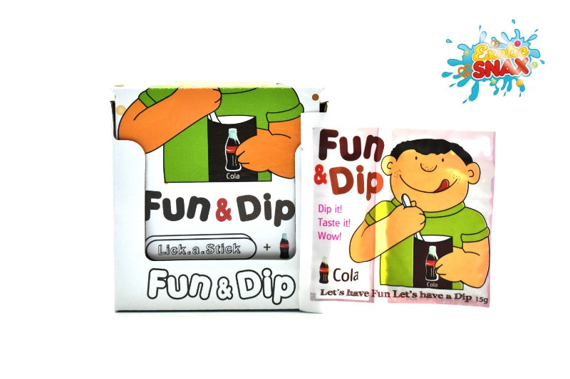 Fun & Dip cola 24pcs * 15g