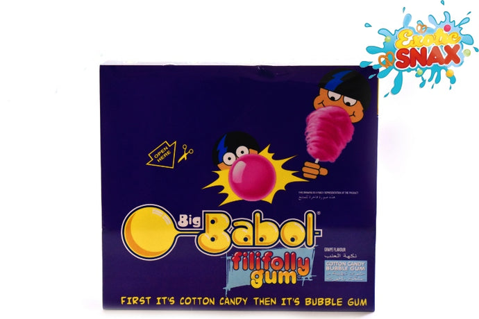Big Babol filifolly gum 12pcs