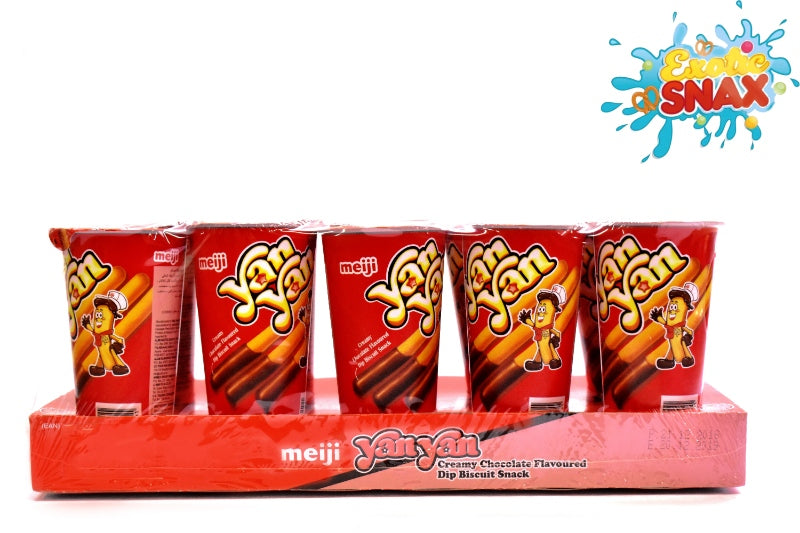 Meji Yan Yan chocolate biscuit snack 10 pcs * 50g
