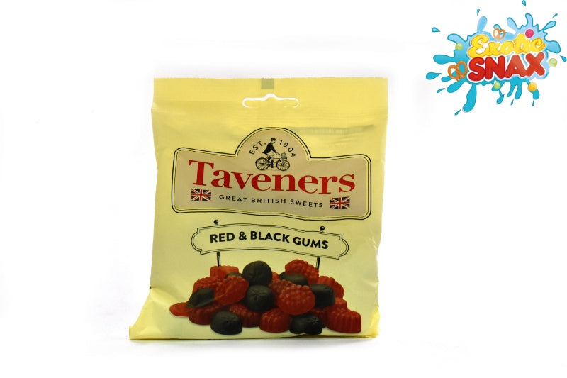 Taveners Red and black gums 165gm