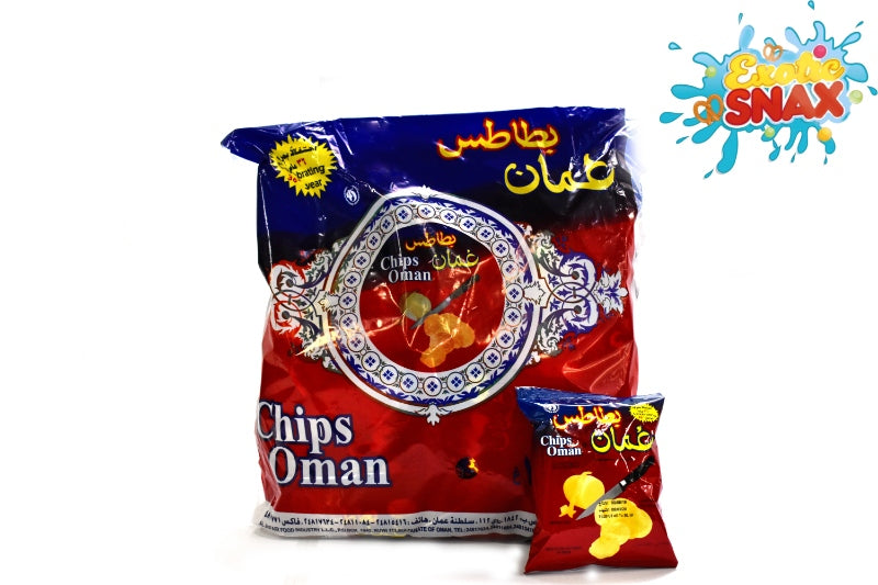 Oman potato chips bag 25 bag * 15g