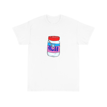 Load image into Gallery viewer, I only love my snax and my mom I'm sorry - White Tee