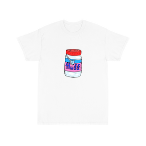I only love my snax and my mom I'm sorry - White Tee