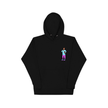 Load image into Gallery viewer, What's poppin? - Black hoodie