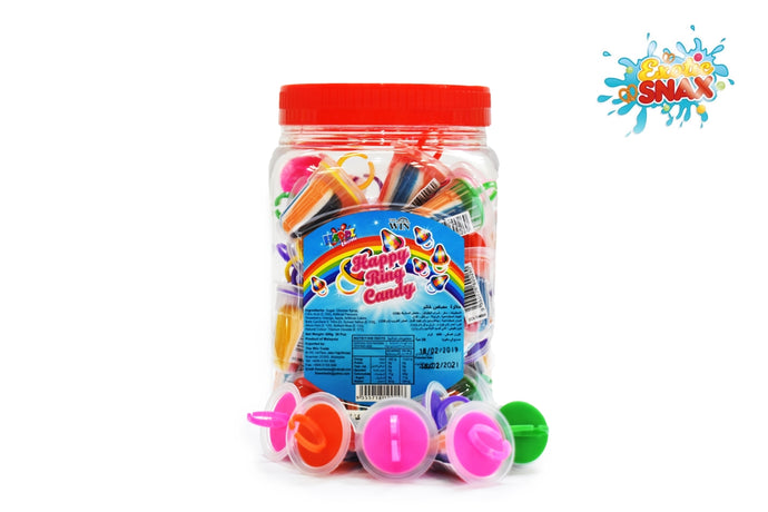 Happy ring Candy lollipop 50pcs  * 12 g