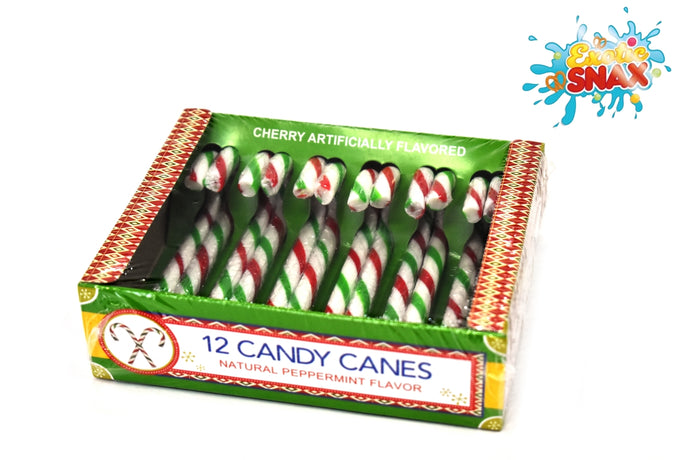 12 candy canes Peppermint flavour