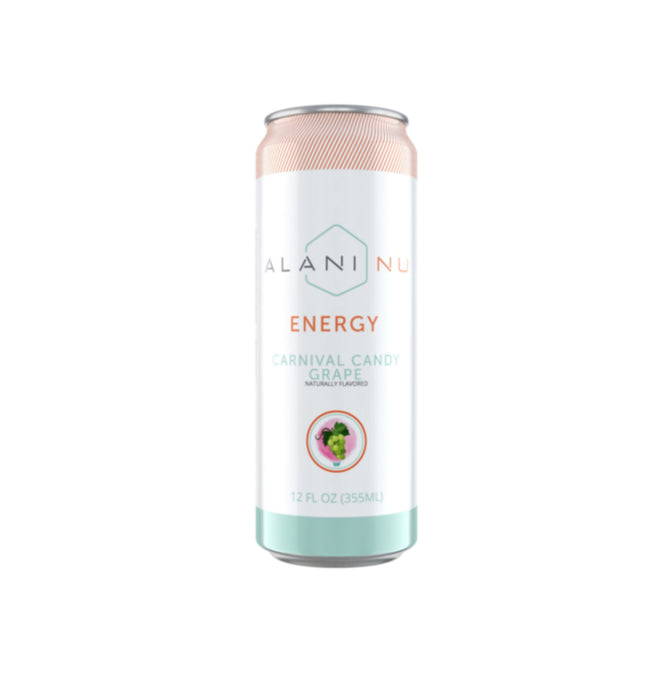 Alani Nu Energy Drink CARNIVAL CANDY GRAPE  355ml