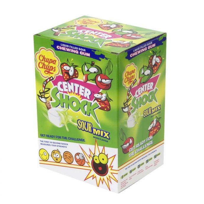 Chupa chups Center Shock Sour Mix (200pieces)