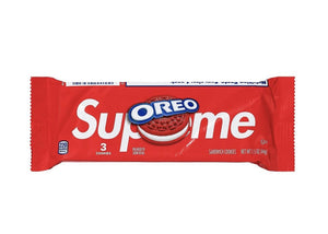 Oreo x Supreme red cookie