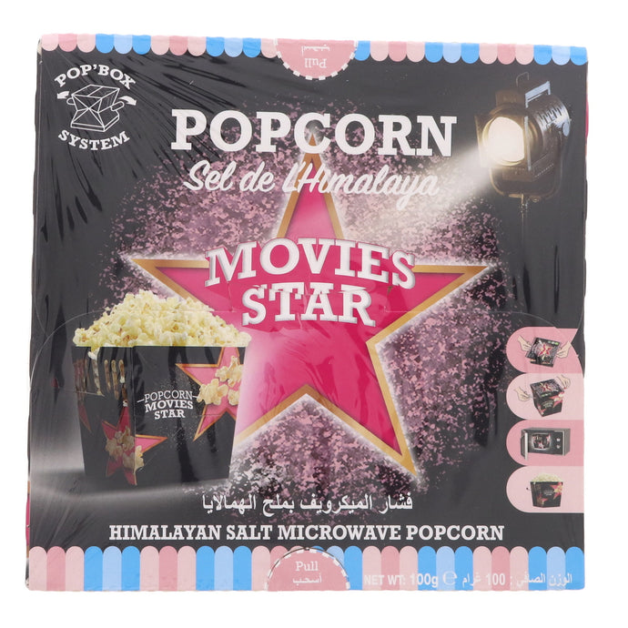 Movies Star Himalayan Salt Microwave Popcorn