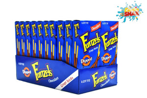 Funzels crispy chocolate sticks 20 pieces
