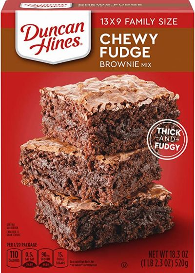 Duncan hines Chewy Fudge Brownie Mix