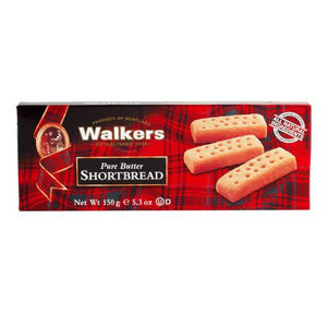 Walker pure butter shortbread 150g