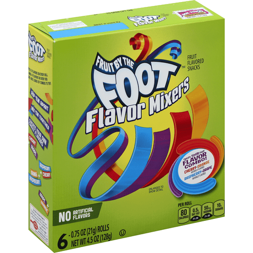 Fruit by the Foot Fruit Flavored Snacks, Flavor Mixers