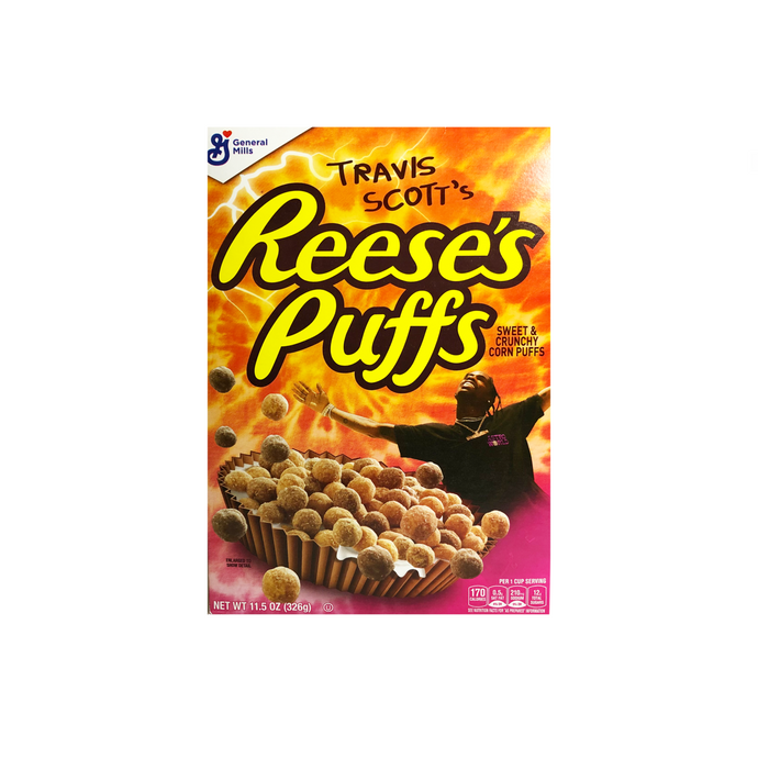 Reese's Travis Scott's Puffs Limited Edition Cereal 11.5 oz
