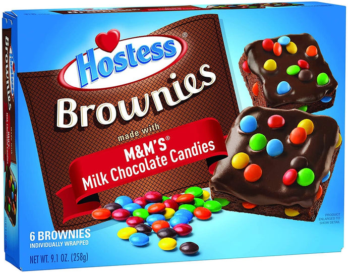 Hostess Brownies M&Ms
