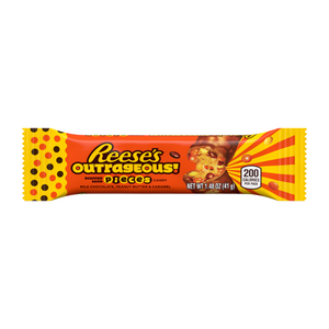 Reese's, Outrageous, Peanut Butter and Milk Chocolate Bar, 1.48 Oz